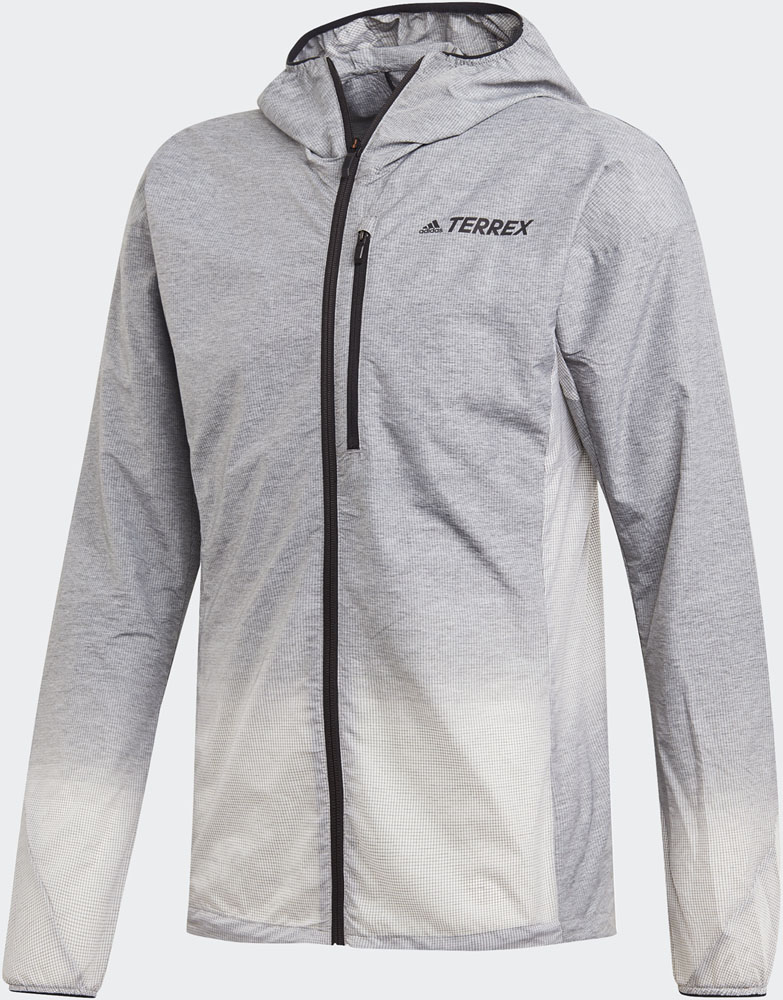 adidas(アディダス) Agravic Windweave Jacket GRYフォアF17/WH