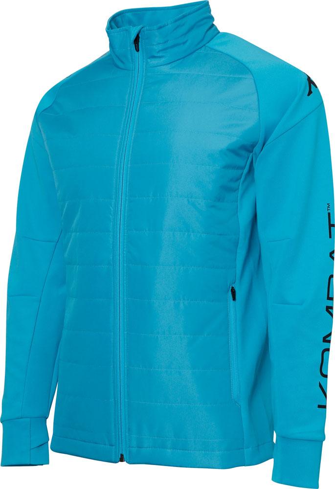 Kappa(カッパ) 中綿ストレッチジャケット メンズ サッカー・フットサルウェア ブルー
