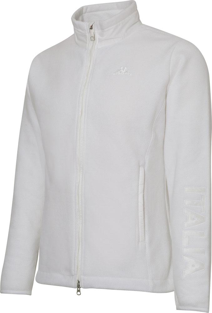 Kappa(カッパ) フリースジャケット オフホワイト