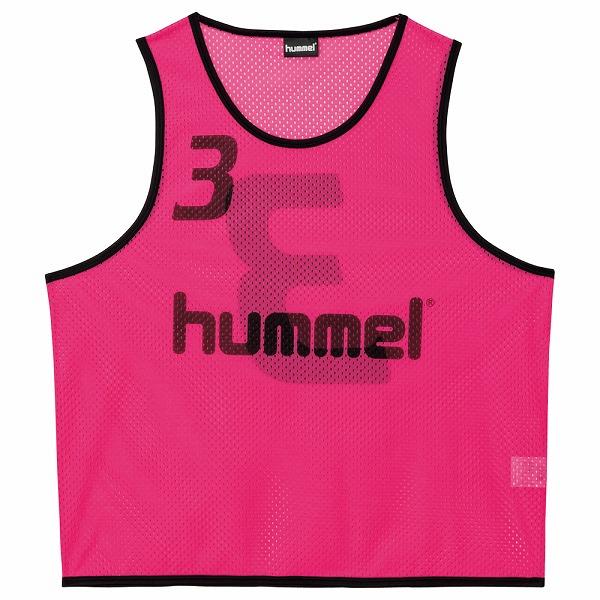 ヒュンメル ジュニアトレーニングビブス ピンク ssk-hjk6006z-25