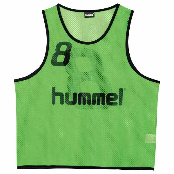 ヒュンメル ジュニアトレーニングビブス ライトグリーン ssk-hjk6006z-52