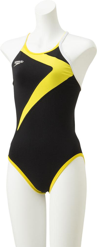 Speedo スピード イエロー 正規認証品!新規格 選択 クイックターンズスーツ