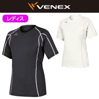 VENEX(ベネクス)Recharge(リチャージ)ショートスリーブ レディス(6411)アンダーウエア