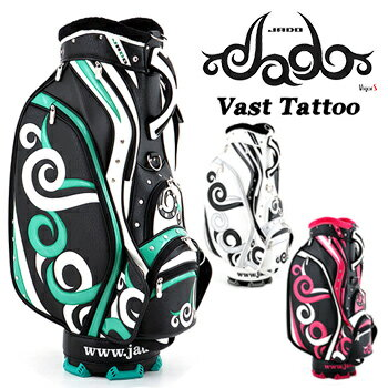 JADO(ジャド) Vast Tattoo Series ヴァストタトゥー シリーズ 限定 キャディバッグ 新色追加 2018新製品 「JGCB7871-02」【あす楽対応】