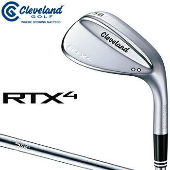 クリーブランドゴルフ日本正規品 RTX4 ウェッジ ツアーサテン仕上げ NSPRO950GHスチールシャフト 2018新製品 「RTX4BTSNS」 【あす楽対応】