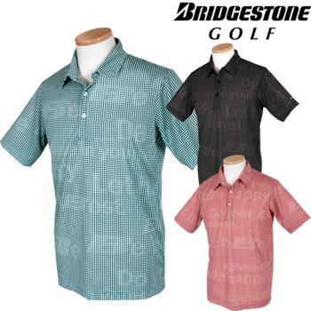 【【最大3000円OFFクーポン】】BridgestoneGolfブリヂストンゴルフウエア nowartt for TOUR B 2019春夏モデル 半袖シャツ 3GNN1A 【あす楽対応】