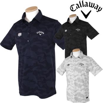 【【最大3000円OFFクーポン】】Callaway GOLF キャロウェイゴルフ 2019春夏モデル 半袖シャツ 241-9157504 【あす楽対応】