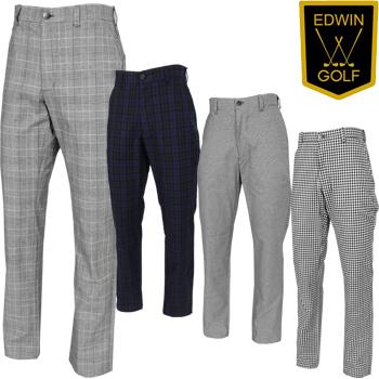 【3月30日 20時~4h限定10倍】EDWIN GOLF エドウィンゴルフ 2019春夏モデル ロングパンツ EG19S1010 【あす楽対応】