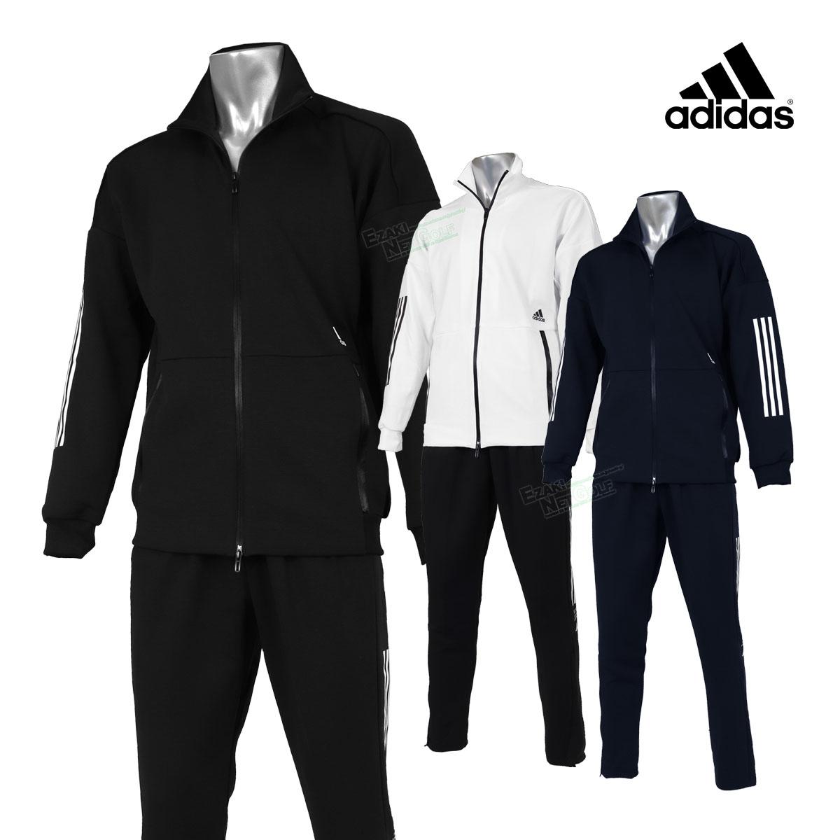 アディダス(adidas) スポーツトレーニングウェア Tech ニットジャケット ニットパンツ 上下セット GUO11/GUN96 【あす楽対応】