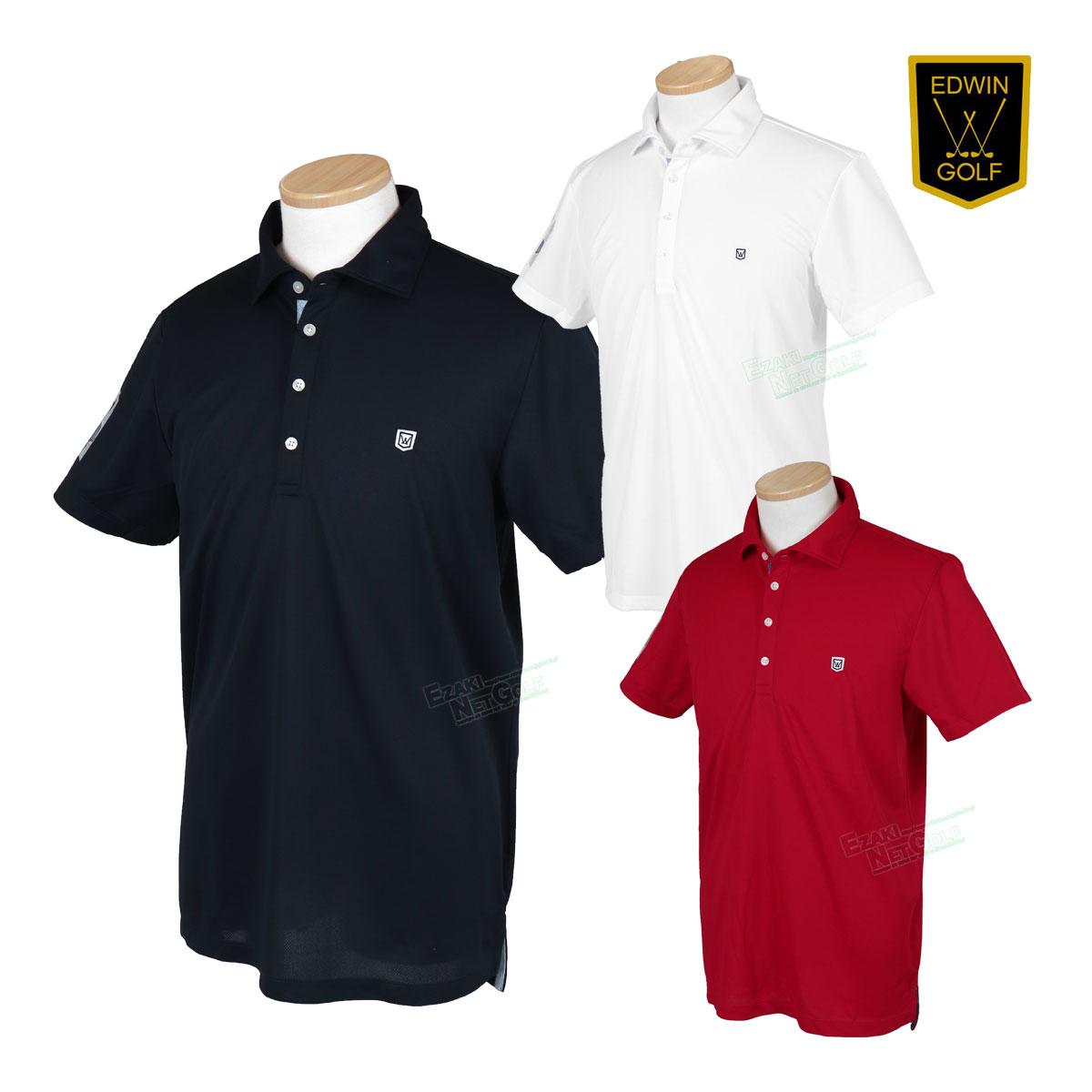 EDWIN GOLF エドウィンゴルフ 2020春夏モデルウエア ホリゾンタルカラーシャツ EG20SS5000 【あす楽対応】