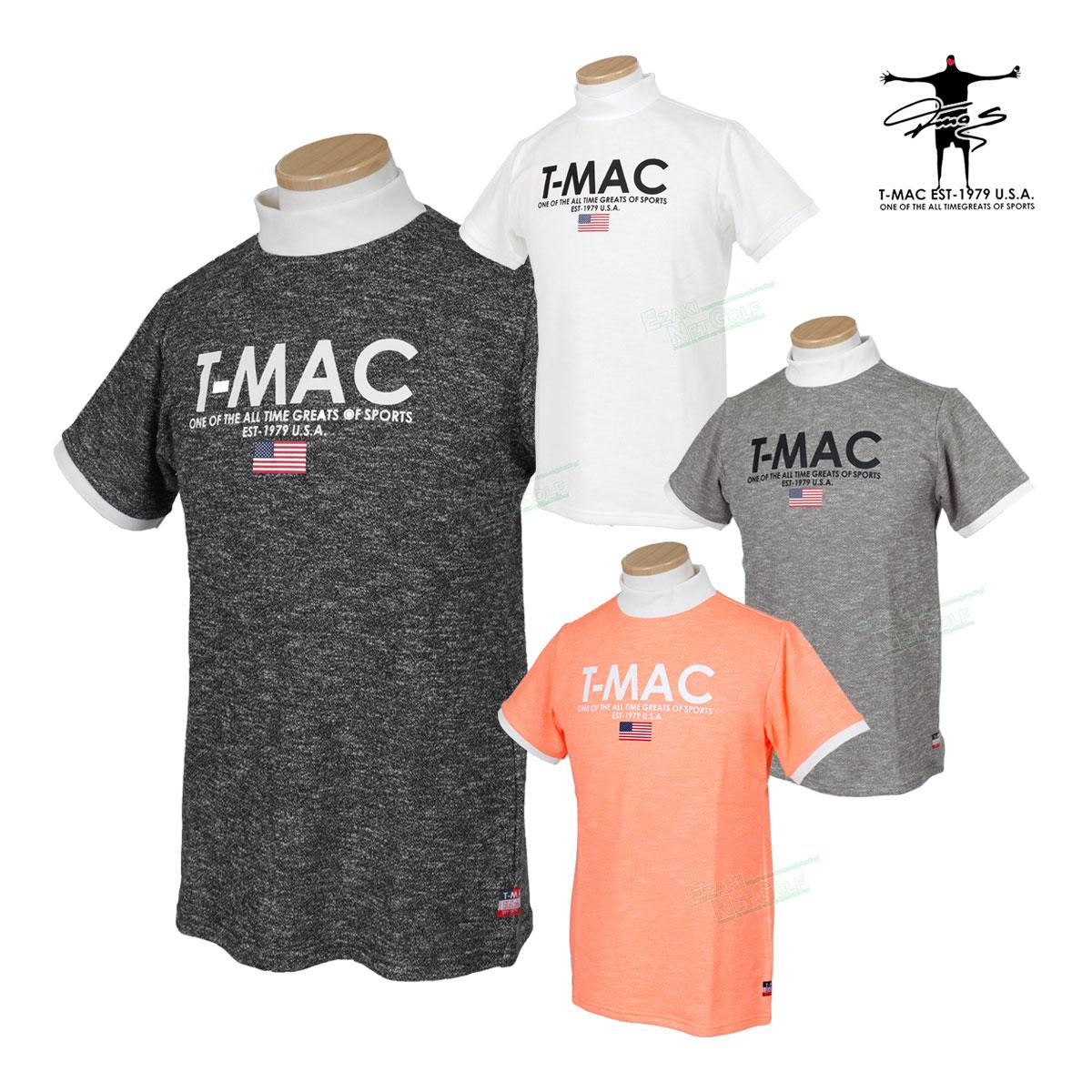 T-MAC GOLF ティーマック 2020春夏モデルウエア 半袖シャツ NP74M 【あす楽対応】