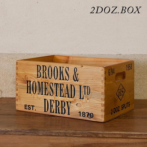 Crate ☆ 2 DOZ... Put The Boxes / Magazine Rack / Magazine Storage /  Newspapers / Storage Box / Storage / Kitchen / Antique / Wine / Fashion /  Nordic ...