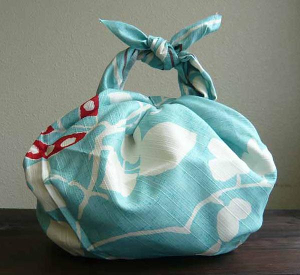 Blister wrapping oversized yumeji ( Sage ) cotton Shantung Furoshiki (90 cm) made in Japan 10P04Aug13