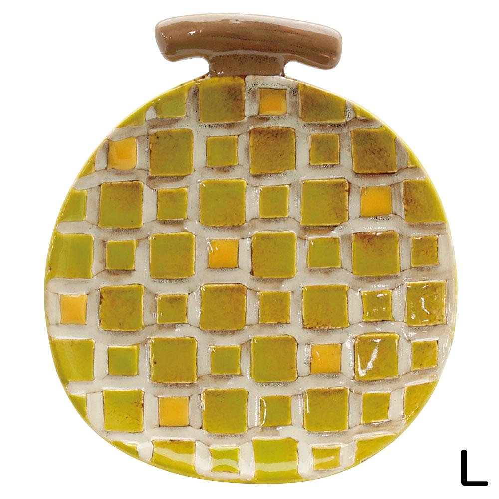 お部屋に置くだけでも可愛い果物の形をしたお皿 セラミック食器 至上 ノルディックデコ プレート メロン 新作送料無料 Lサイズ お皿 果物型 インテリア あす楽対応 セラミック製