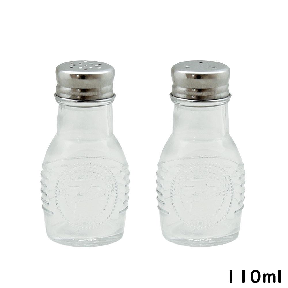 長く使えるガラス製保存容器 110ml ガラス 保存容器 ランキング1位受賞 オールドスタイル SPセット スパイスポット ペッパー あす楽対応 塩 ソルト 迅速な対応で商品をお届け致します キャニスター 通販 ガラス瓶 コショウ 胡椒