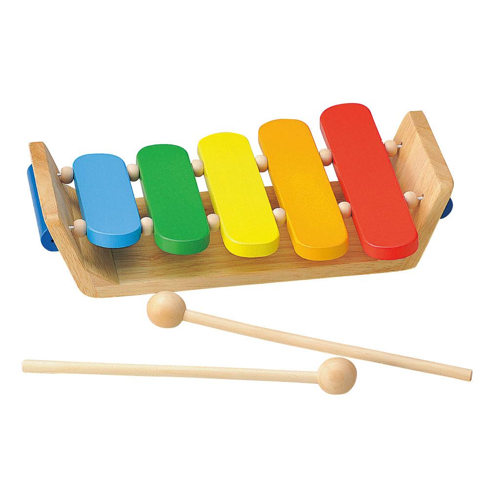 温かみのある天然木使用 プラスチックでは感じることができない温もりを大切なお子様へ 知育玩具 木のおもちゃ 1歳半 から ウッデントイ カラフルもっきん 1才半 2才 ギフト 天然素材 天然木 子どものおもちゃ 限定タイムセール 3才 あす楽対応 誕生日プレゼント 買い物 木琴 プレゼント 木製玩具