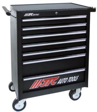 JTC(ラグナ)7段工具箱(黒色) JTC3931BK【代引き不可】【法人宛限定】