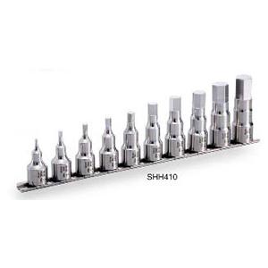 満点の TONE 12.7(1/2) SUSヘキサゴンソケットセット(ホルダー付)SHH410【代金引換不可】, リカーズハセガワ f9a0b107