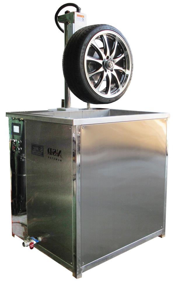 超音波ホイール洗浄機。超音波、植物性洗浄液、熱・バブルの力で、車のホイールをスピーディに強力洗浄します。ASD-1048S【代金引換不可】【要ご相談】