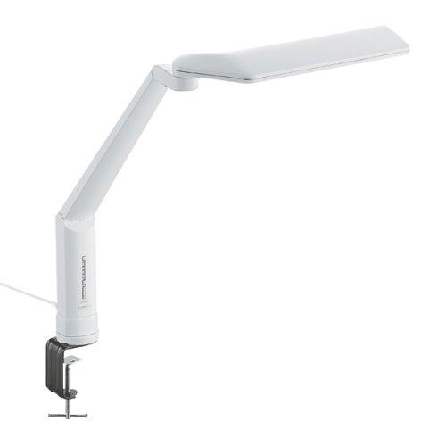 [ポイント10倍][SB]ツインバード クランプ式LEDデスクスタンド ホワイト LE-H635W