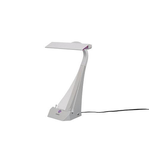 [ポイント10倍][SB]ツインバード タブレッドスタンド&USB付LEDデスクスタンド LE-H843S