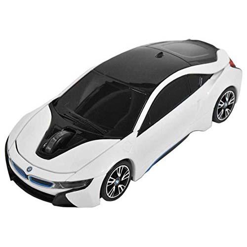 [ポイント10倍][SB]LANDMICE BMW i8シリーズ 無線カーマウス 2.4Ghz 1750dpi ホワイト BM-Pi8-WH