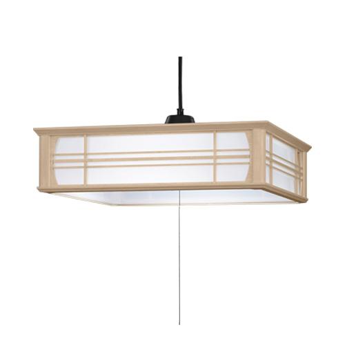 [ポイント10倍][SB]日立 LED和風木枠ペンダントライト~8畳 LEP-CA800EJ