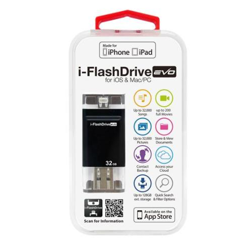 [ポイント10倍][SB]Photofast i-FlashDrive EVO for iOS&Mac/PC Apple社認定 LightningUSBメモリー 32GB IFDEVO32GB