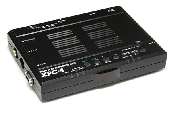 【ラッキーシール対応】フルデジタル・ビデオスキャンコンバーター・ユニットXPC4 マイコンソフト社XPC4N(DP3913546)
