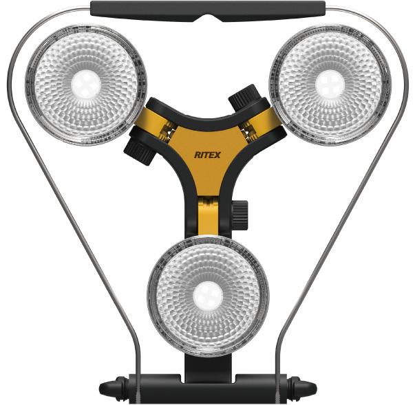 【月間優良ショップ選出】[RITEX]ハロゲン投光器 300W 相当LED×3灯 スーパーワークライト WT-1000【WT1000】【送料無料】