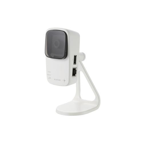 【月間優良ショップ選出】[ELECOM(エレコム)] 中継機能付きネットワークカメラ NCC-EWF100RMWH2