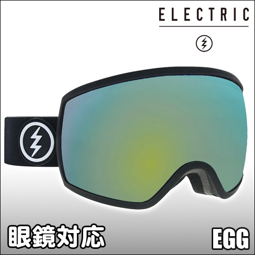 ELECTRIC[エレクトリック] 【18/19・EGG】MATTE BLACK : GREY/GOLD CHROME