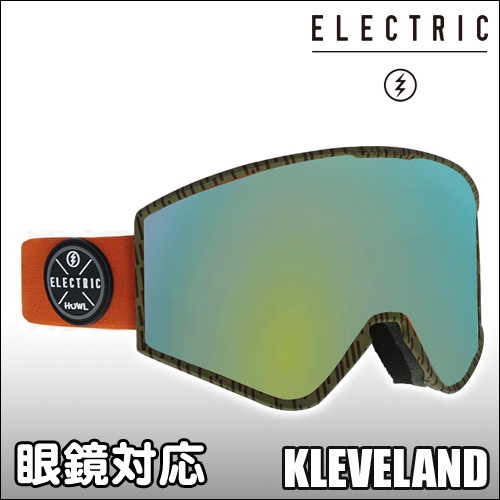 ELECTRIC[エレクトリック] 【18/19・KLEVELAND】HOWL COLLAB : GREY/GOLD CHROME