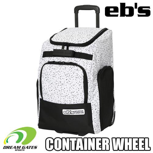 日本正規取扱品 #12800 納期B eb's 20 21 CONTAINER WHEEL:SPINKLE エビス コンテナウィール タイヤ付きで移動が楽 部活 旅行 トラベルバッグ 送料無料(一部地域を除く) 大型バック あらゆるニーズに対応するアイテムです 海外輸入 合宿 ヘルメット収納にも対応 ウィール付き