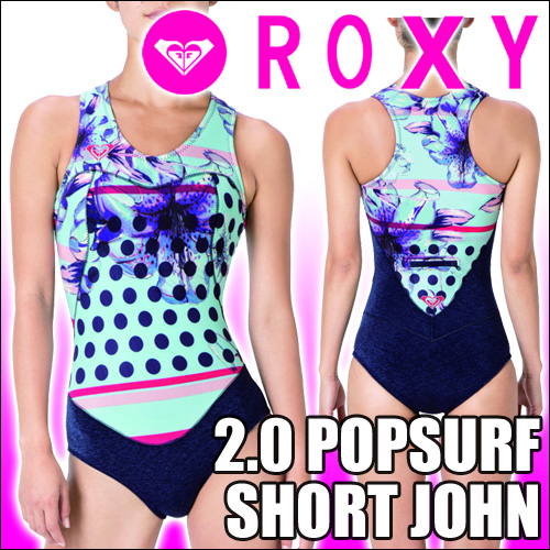 ROXY[ロキシー] ウェットスーツ【2.0 POPSURF SHORT JOHN】手軽なショートジョンタイプ