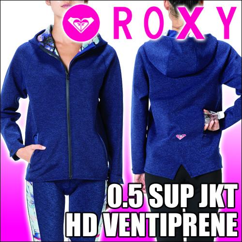 ROXY[ロキシー] ウェットジップパーカー【0.5 SUP JKT HD VENTIPRENE】商品はジップフードのみです。