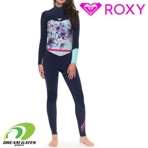 ROXY ロキシー ウェットスーツ【3/2 POPSURF CZ FULLSUIT】チェストタイプ フルスーツ