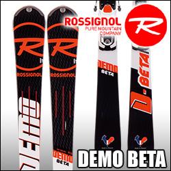 ★スキー板 Rossignol(ロシニョール) 【16/17・DEMO BETA (FLUID X) + FCFB005 SPX 12 FLUID B80 White Icon】 ビンディングとの2点セット!!