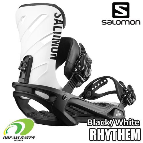 SALOMON(サロモン)【18/19・RHYTHM:BLACK/WHITE】ベーシックな機能を備えてステップアップを助けるサロモンバインディングの「リズム」スノボ バインディング ビンディング メンズ ユニセックス