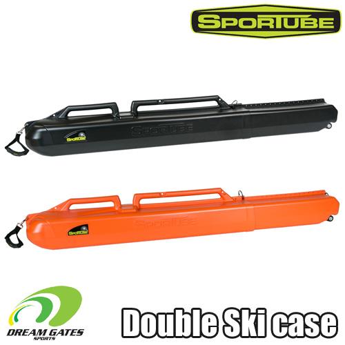 スキー収納のハードケース SKI二台収納用【SPORTUBE series 2】 スポーチューブ [21BKSW],[21BLZSW]