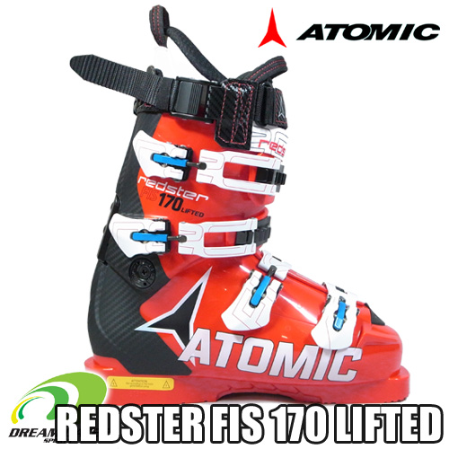 ATOMIC[アトミック]【16/17・REDSTER FIS 170 LIFTED】【代金引換不可】【送料無料】純競技専用のレーシングスキーブーツ[AE5012720]