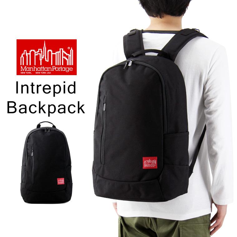 Manhattan Portage マンハッタンポーテージ Intrepid Backpack イントレピッド バックパック ( リュック デイパック リュックサック メンズ レディースMP1270 )