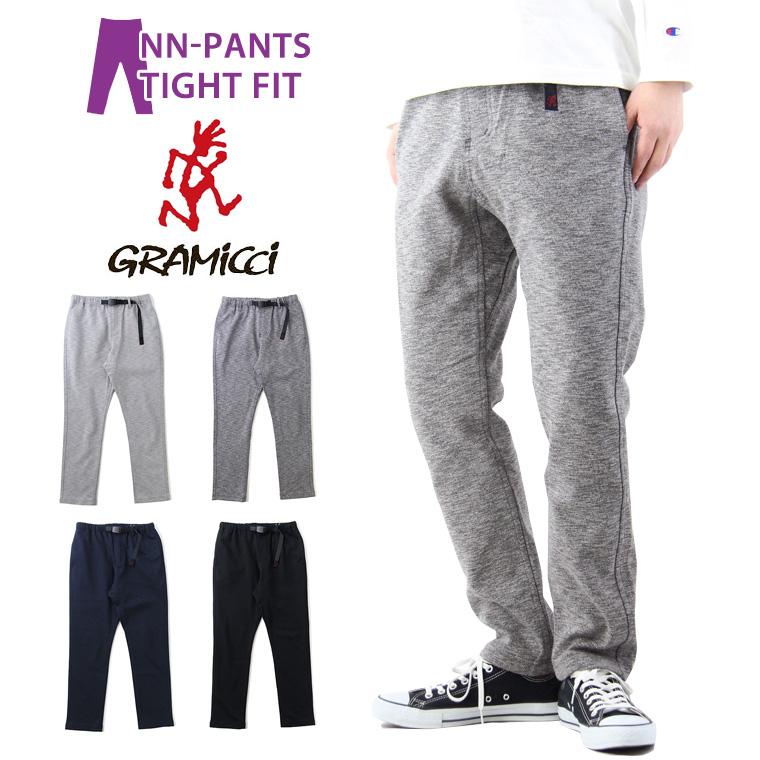 GRAMICCI グラミチ COOLMAX KNIT NN-PANTS TIGHT FIT クールマックス ニット ニューナローパンツ タイトフィット / メンズ New Narrow Pants NNパンツ クライミングパンツ 吸水速乾 GMP-19S019