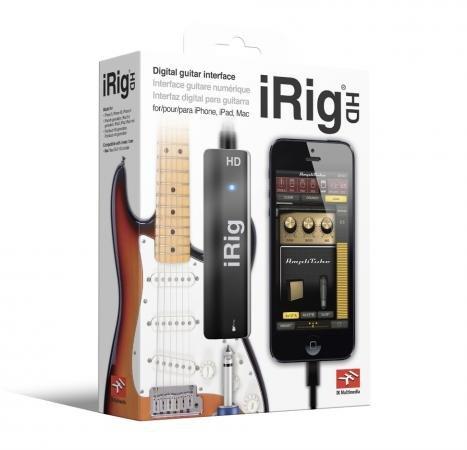【送料無料】 IK Multimedia iRig HD (iOSデバイス用ギター/ベース・インターフェイス) IKM-OT-000012/在庫あり【スマホ・タブレットのアクセサリー専門店 パソコンパーツ サウンドボード フューチャモバイル】