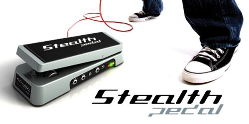 IK Multimedia StealthPedal USBオーディオインターフェース IKM-SO-000004 /在庫あり/ 送料無料 ワウペダル USBバス パワー対応