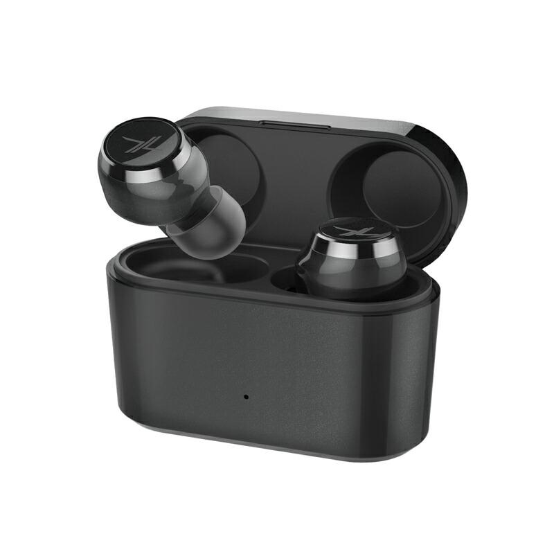 スマートフォン イヤホン LIVIL audio 完全ワイヤレスイヤホン「LIV110」 スペースブラック LIV110-BK /在庫あり/送料無料 黒色
