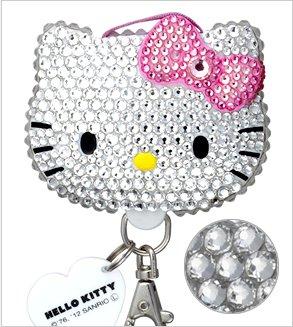 【送料無料】 スワロ デコプティ ハローキティ フェイス Hello Kitty face クリスタル SR-HK-006【スマホ・タブレットのアクセサリー専門店 フューチャモバイル】