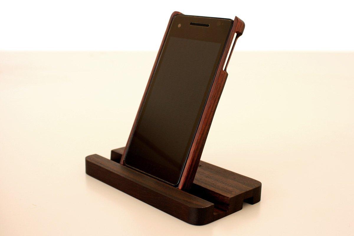 【在庫限り】【送料無料】 Hacoa Xperia AX SO-01E 木製ケースセット(ケース及びスタンド)ローズウッド H-SO01EWR / 在庫あり【スマホ・タブレットのアクセサリー専門店 スマートフォンアクセサリー スマートフォンケース スマホケース フューチャモバイル】おしゃれ