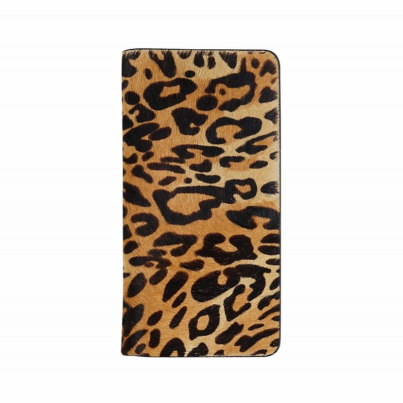 アイフォンxr iphone XR (6.1) ケース GZ13473i61 GAZE 手帳型 本革 Leopard Calf Hair Diary /在庫あり/ 送料無料 豹柄 レオパード ワイヤレス充電 ヒョウ 【スマートフォン用ケース カバー スマホカバー フューチャモバイル】おしゃれ