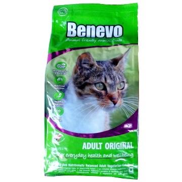 Benevo キャットフード cat food ベジタリアン 小粒 10kg 【正規輸入品】/在庫あり / アレルギーフリー 天然植物成分 防腐剤 無添加 ネコ